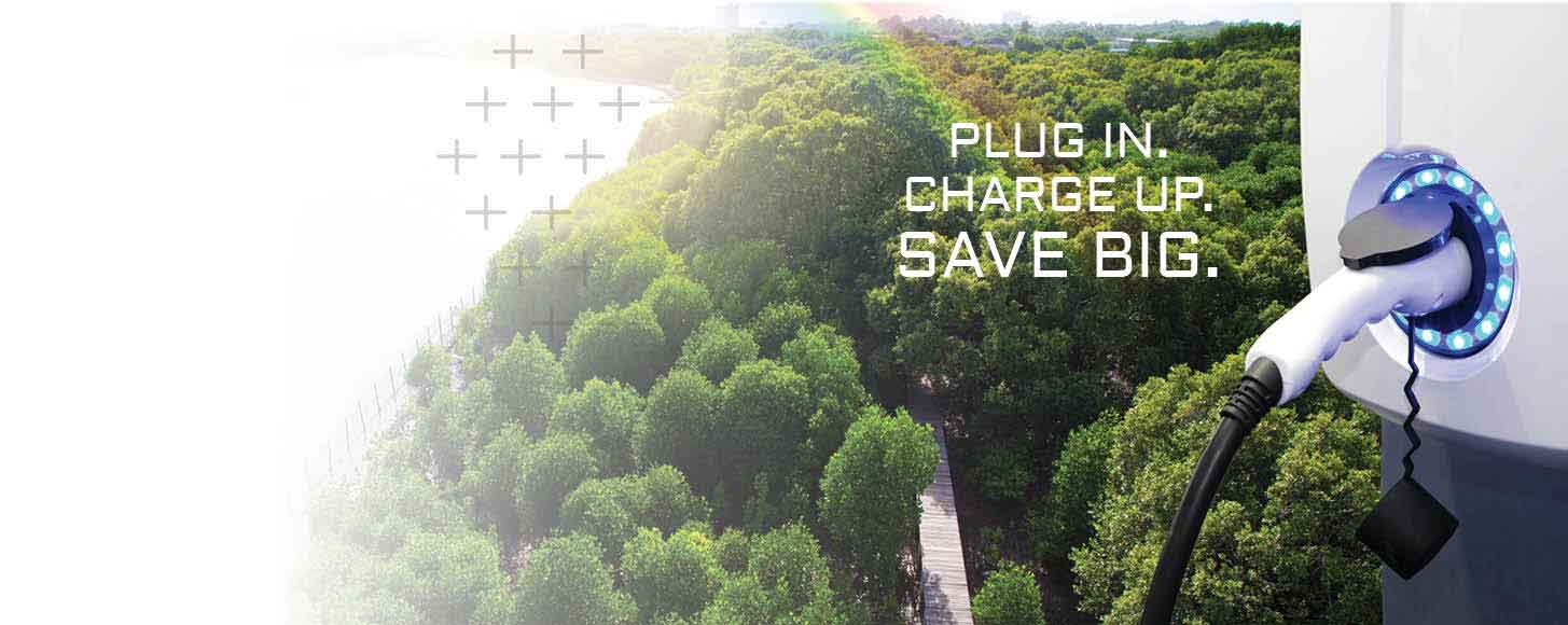 Save $800 on a <br>Level 2 EV Charger
