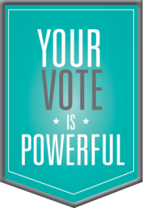 Your Vote Is Powerful
