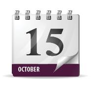 October 15 Calendar