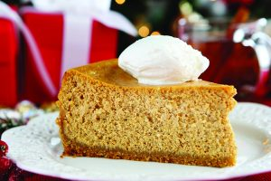 Brandy Pumpkin Cheesecake