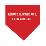Reduce electric use, earn a rebate