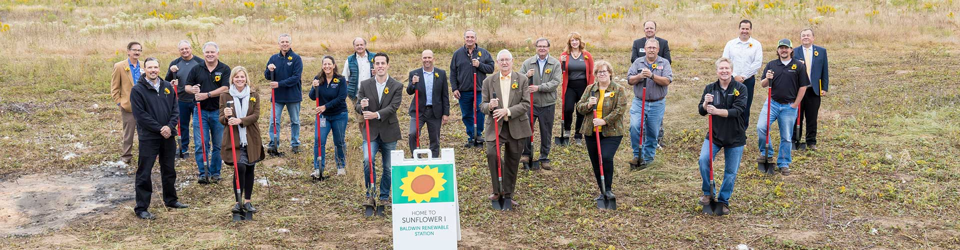 Connexus Energy holds groundbreaking for Sunflower I